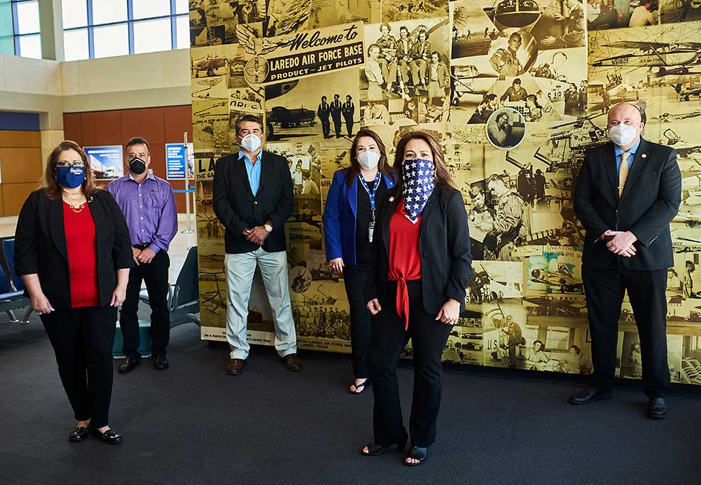"Laredo International Airport ""Heroes' Hangar"" Mural Unveiling Ceremony"